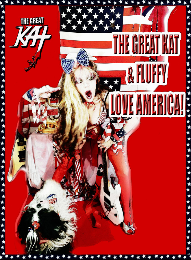 THE GREAT KAT & FLUFFY LOVE AMERICA! CARTOON!