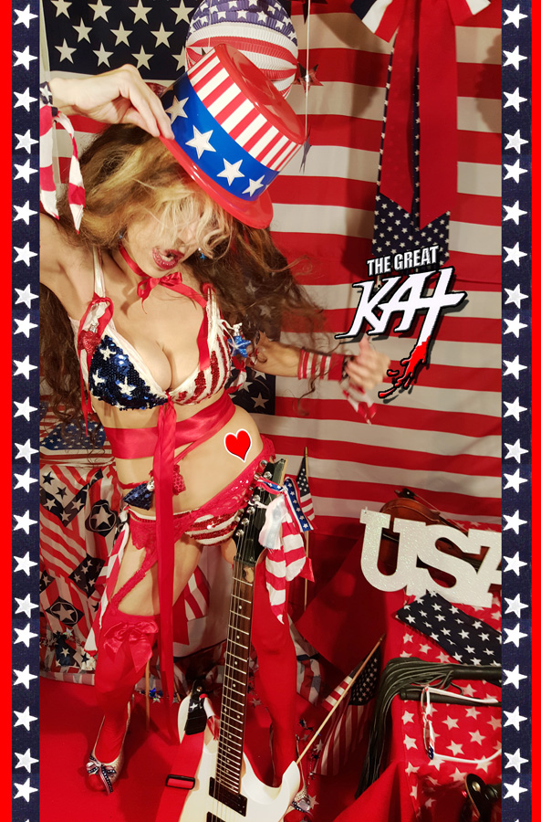 GREAT KAT LOVES THE USA!!