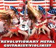 REVOLUTIONARY METAL GUITARIST/VIOLINIST!