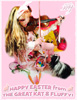 HAPPY EASTER FROM THE GREAT KAT & FLUFFY!