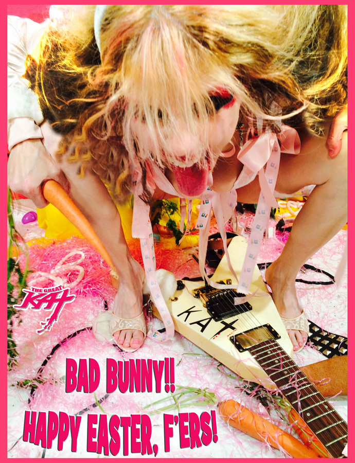 BAD BUNNY!! HAPPY EASTER, F'ERS!