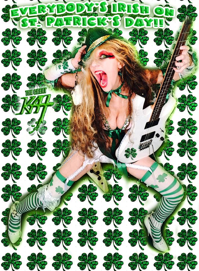 EVERYBODY'S IRISH ON ST. PATRICK'S DAY!