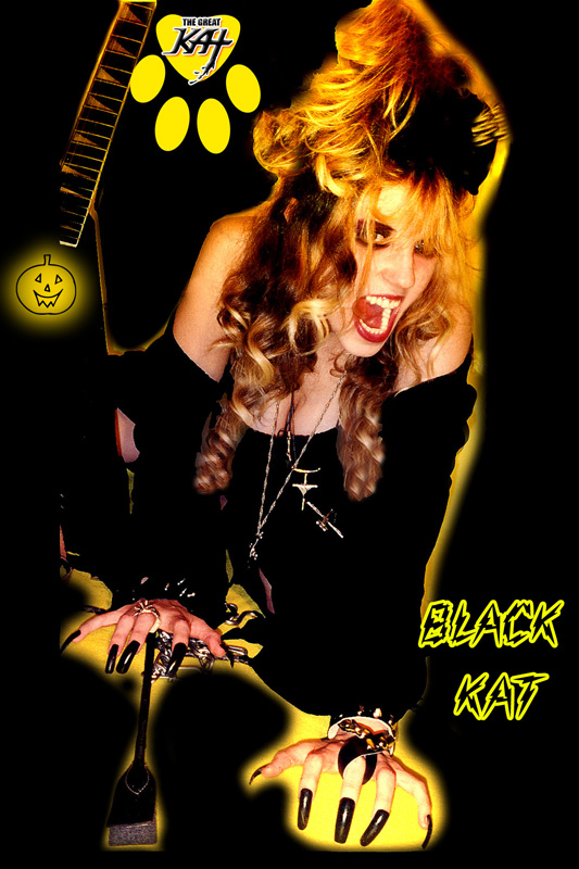 BLACK KAT! HAPPY HALLOWEEN!