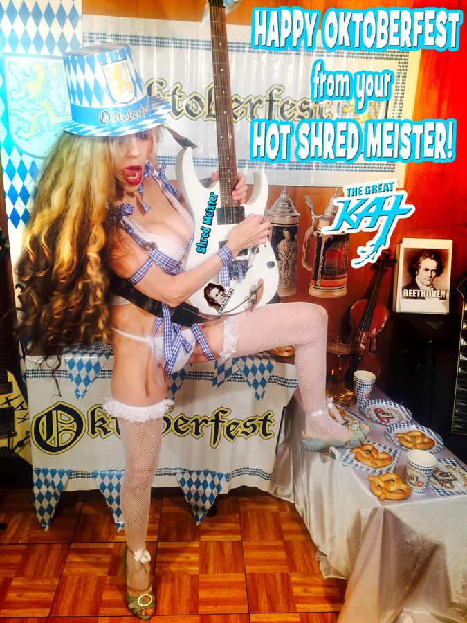 HAPPY OKTOBERFEST from your HOT SHRED MEISTER!