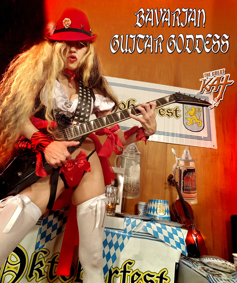 BAVARIAN GUITAR GODDESS!