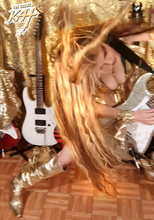 OUTRAGEOUS SHRED ICON THE GREAT KAT!