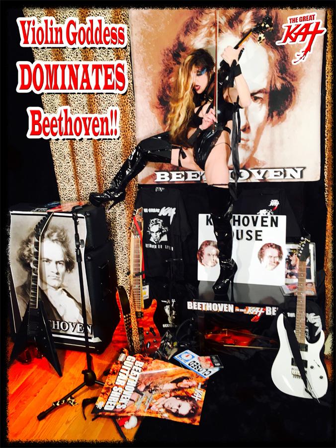 Violin Goddess DOMINATES Beethoven!!