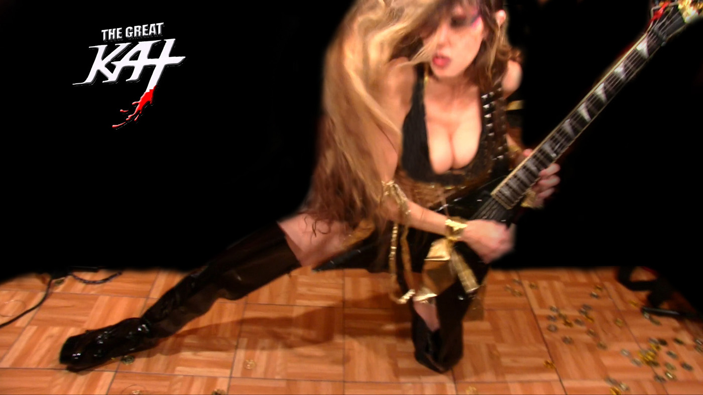 "THE GREAT KAT SHREDS LISZT'S ""HUNGARIAN RHAPSODY"" at REHEARSAL for NEW DVD!"