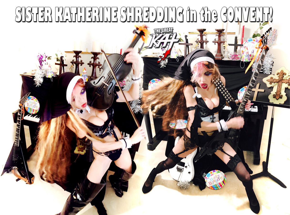 SISTER KATHERINE SHREDDING in the CONVENT!