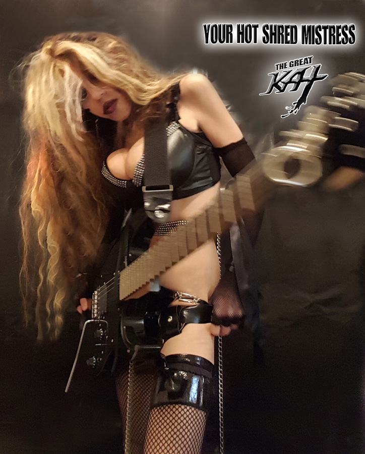 YOUR HOT SHRED MISTRESS