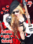 THE CAMERA LOVES THE GREAT KAT!