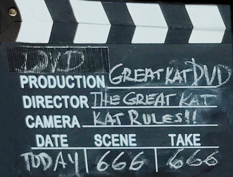 GREAT KAT DVD MOVIE CLAPBOARD!