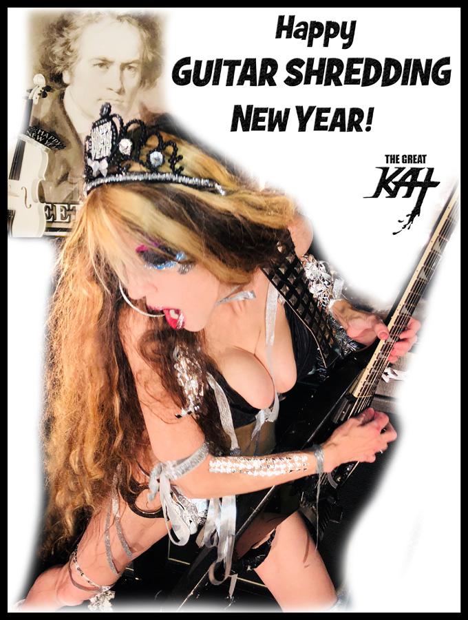 Happy GUITAR SHREDDING NEW YEAR!