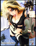 "VIOLIN DOMINATRIX! from ""HAPPY NEW YEAR"" HOLIDAY KAT PHOTOS!"