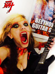 THE GREAT KAT & BEETHOVEN SHREDDING SELFIE in NYC!
