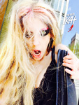 MANHATTAN -  ON MY WAY to a VICIOUS Great Kat Practice session!! GET READY for HYPERSPEED!