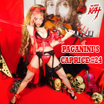 History's Only Guitar/Violin Double Virtuosos: Paganini & The Great Kat Now Streaming on Spotify, Rhapsody, Freegal, Apple Music/Video!