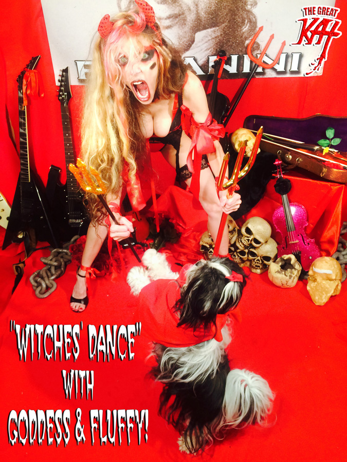 """""""WITCHES' DANCE"""" with GODDESS & FLUFFY!"""