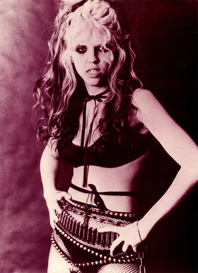 """The Great Kat MAGAZINE POSTER from """"BEETHOVEN ON SPEED"""" ERA!"""