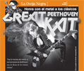 """MILENIO'S INTERVIEW WITH THE GREAT KAT! """"She does not skimp on technique and shouts to challenge the speed on the guitar, she is The Great Kat, who reinvents the great scores. She executes pieces like 'The Fifth Symphony' or Bach's 'Brandenburg Concerto' at the maximum speed at guitar and violin, with a crushing and powerful technique."""""""