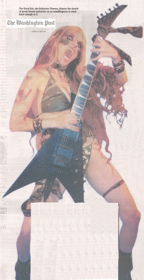 """The Great Kat Poster in """"The Washington Post"""""""