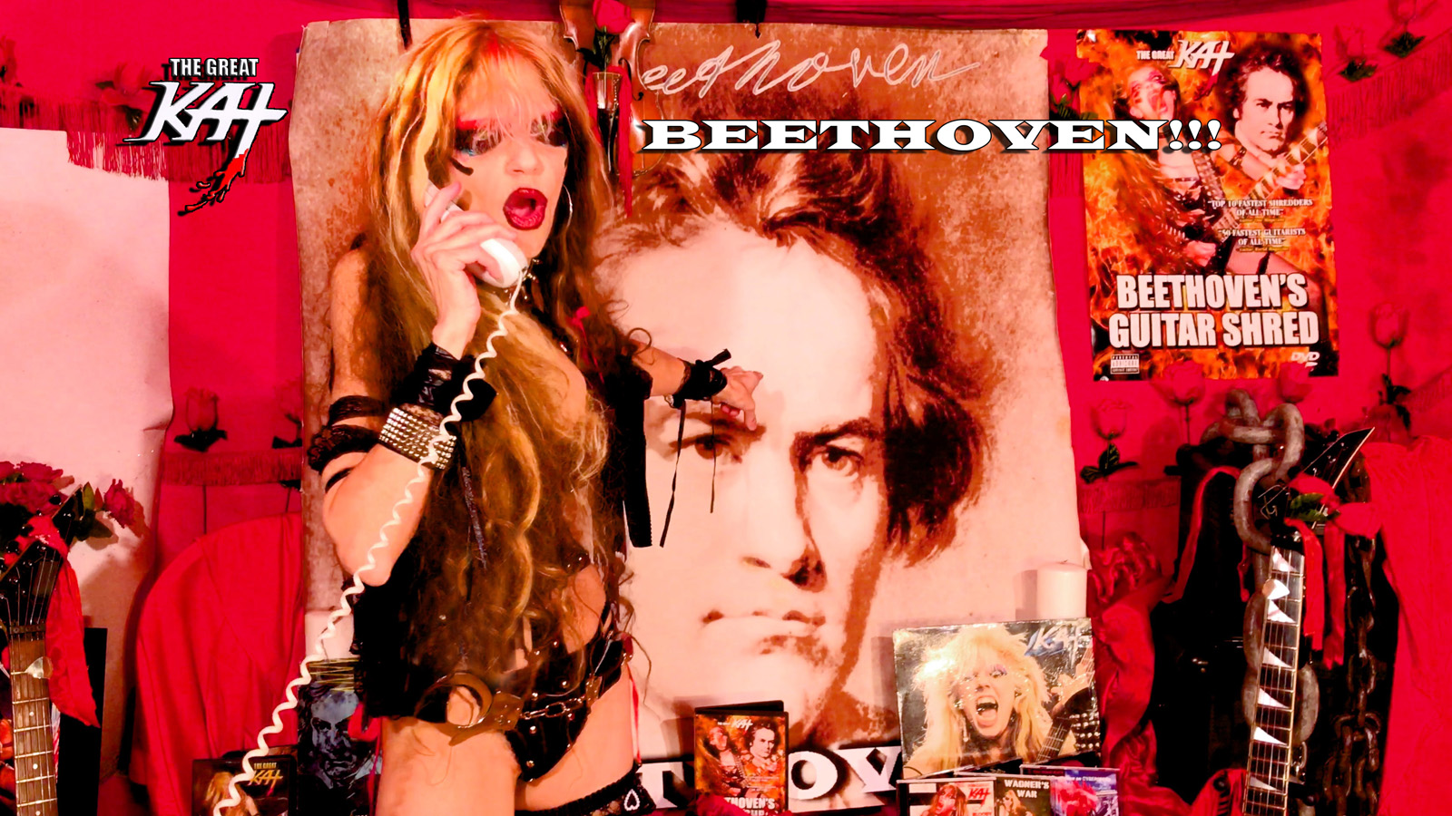 BEETHOVEN!!! FROM GREAT KAT INTERVIEW PHOTOS!