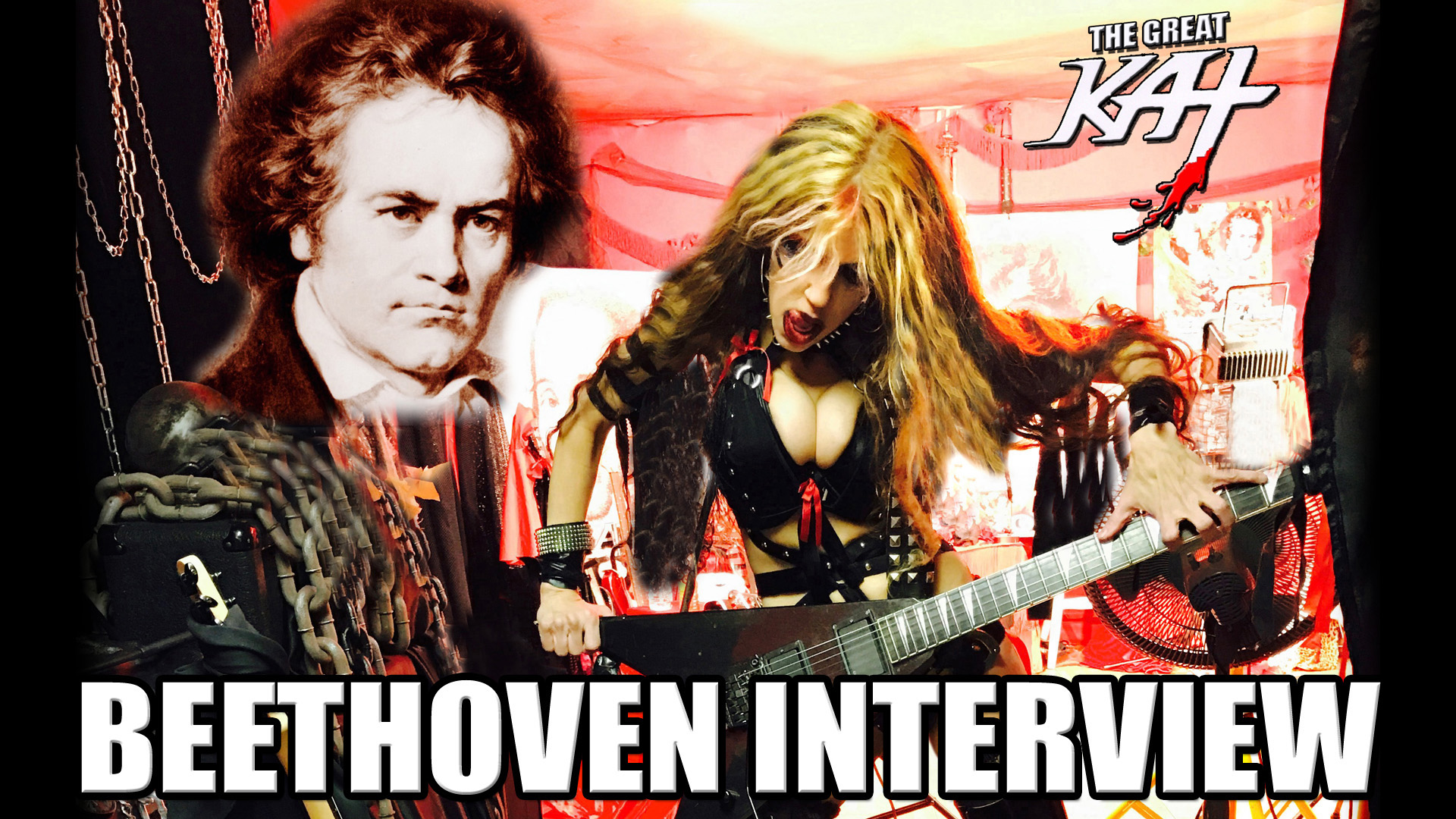 """BEETHOVEN INTERVIEW"" - ""KICK DOWN THE DOOR!!!!""- AMAZON PRIME PREMIERES THE GREAT KAT REINCARNATION of BEETHOVEN INTERVIEW!"