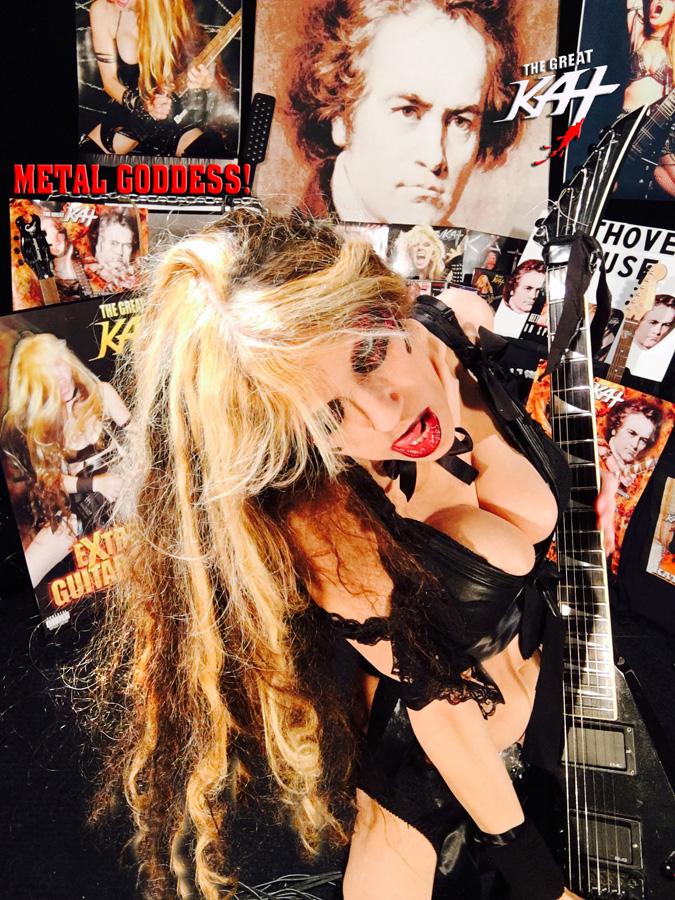 METAL GODDESS! From GREAT KAT HOT RADIO INTERVIEWS PHOTOS!
