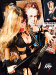 HOT SHRED MISTRESS GREAT KAT! FROM GREAT KAT RADIO INTERVIEW PHOTOS!