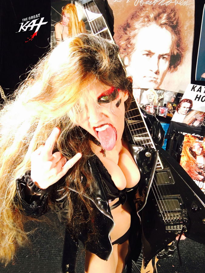 METAL!!!! From THE GREAT KAT HOT RADIO INTERVIEWS PHOTOS!