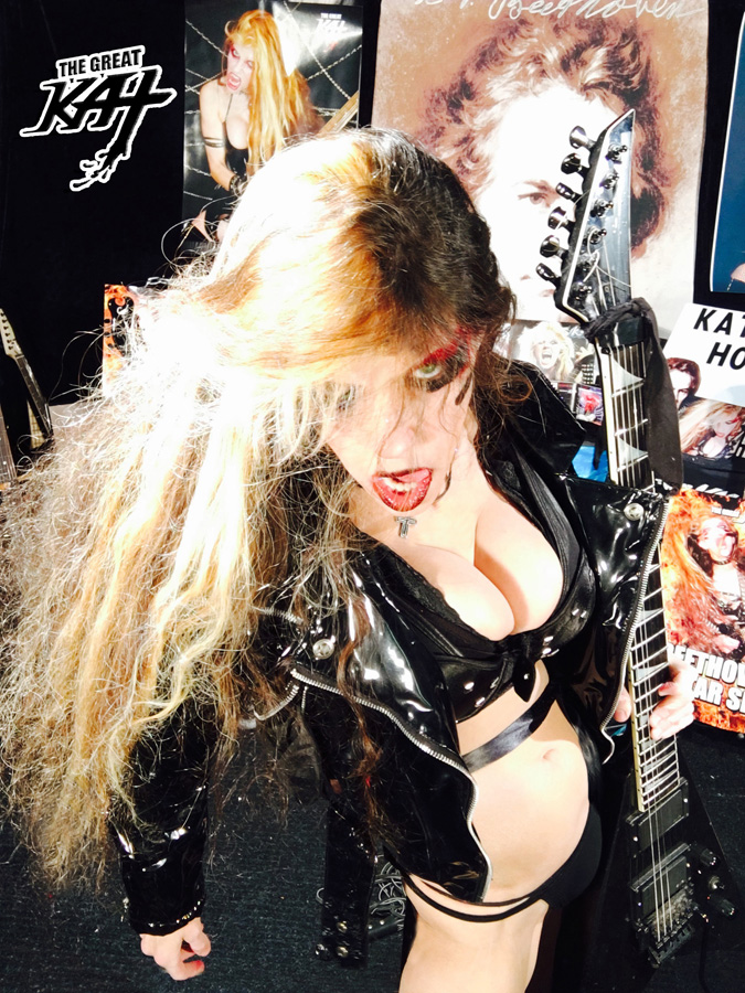 HEAVY METAL GODDESS! From THE GREAT KAT HOT RADIO INTERVIEWS PHOTOS!