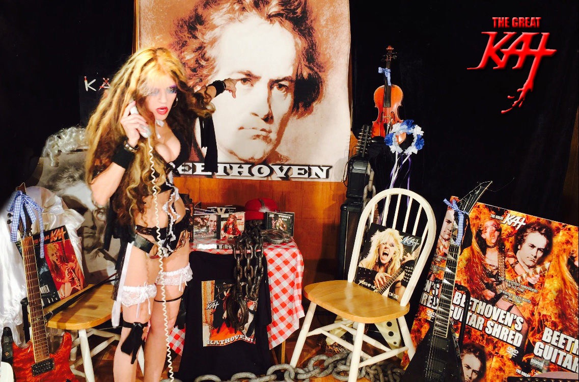 The Great Kat is the REINCARNATION of BEETHOVEN