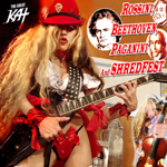 ROSSINI, BEETHOVEN, PAGANINI AND SHREDFEST� RECORDING AND MUSIC VIDEO by THE GREAT KAT!