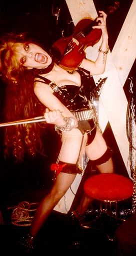 "The Great Kat ""ROSSINI'S RAPE"" CD Photos"
