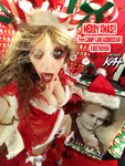 "MERRY XMAS from CANDY CANE GODDESS KAT & #BEETHOVEN   from ""SANTA BEETHOVEN"" HOLIDAY KAT PHOTOS!"