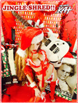 "JINGLE SHRED!!  from ""SANTA BEETHOVEN"" HOLIDAY KAT PHOTOS!"