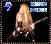 KAT BURNS SCORPION GUITAR PHOTOS!