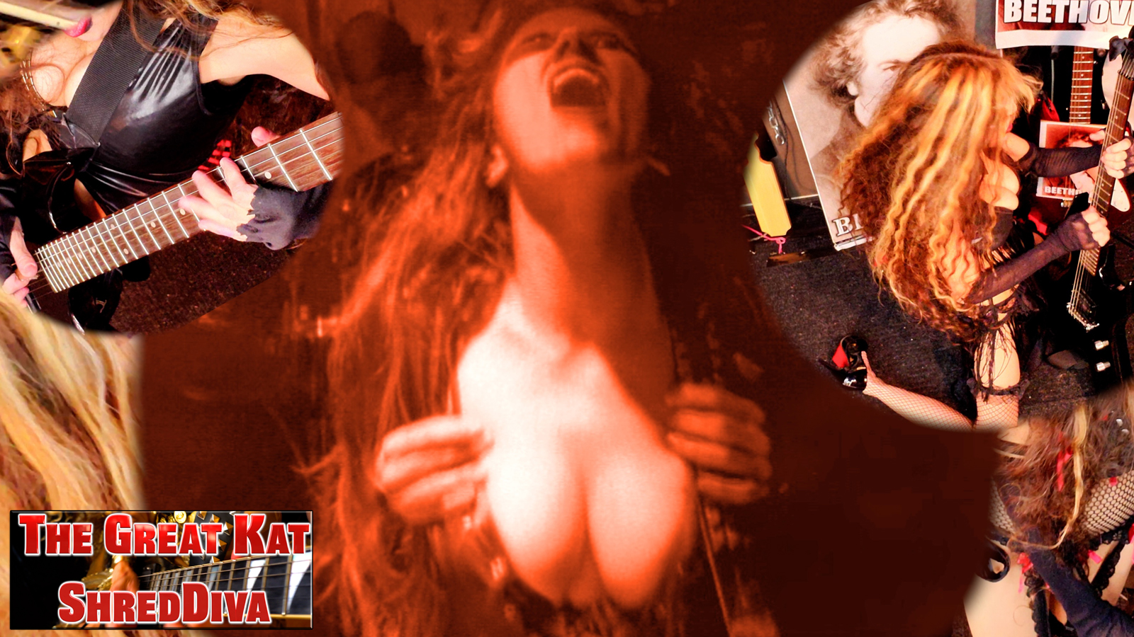The Great Kat�s �SHREDDIVA� NEW RECORDING & MUSIC VIDEO � TERRIFIC/SHRED!