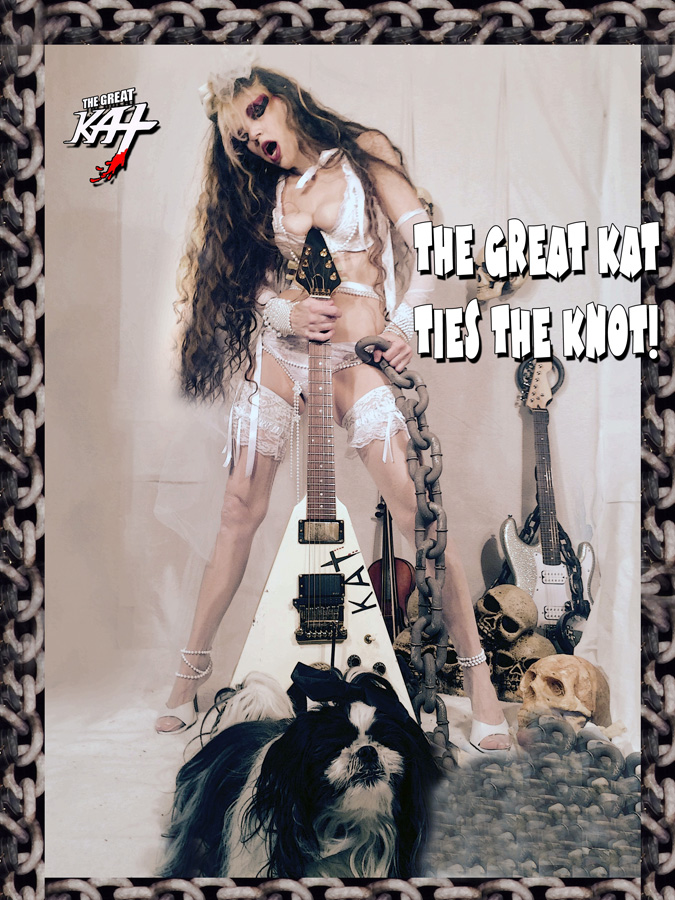THE GREAT KAT TIES THE KNOT!