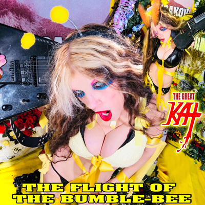 """THE FLIGHT OF THE BUMBLE-BEE"" - THE GREAT KAT'S INSANELY FAST SIGNATURE SONG - SINGLE AVAILABLE on AMAZON, iTUNES & MORE:"