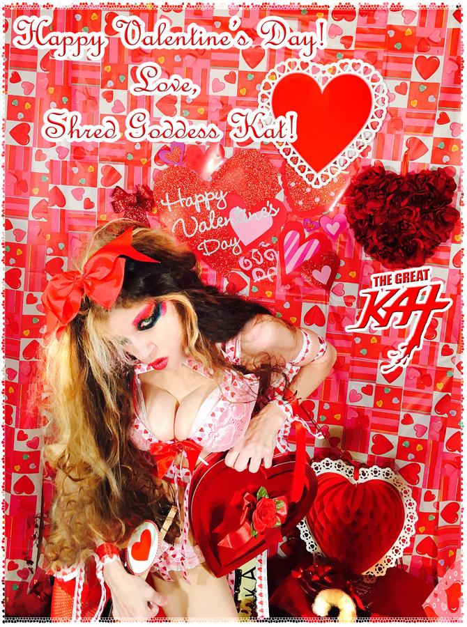 Happy Valentine's Day! Love, Shred Goddess Kat!