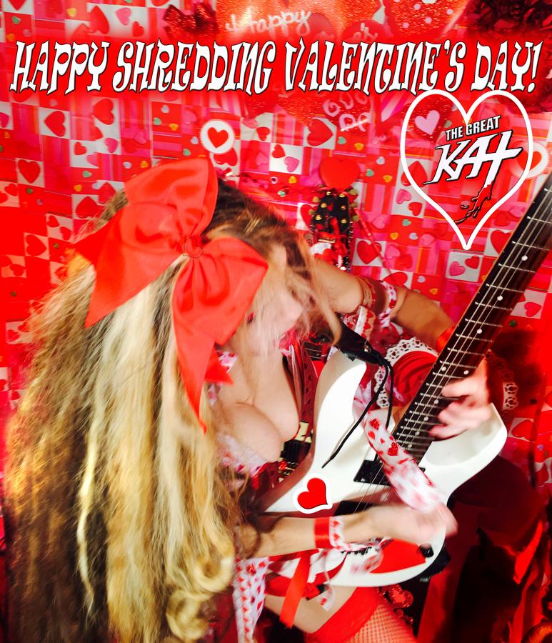 HAPPY SHREDDING VALENTINE'S DAY!