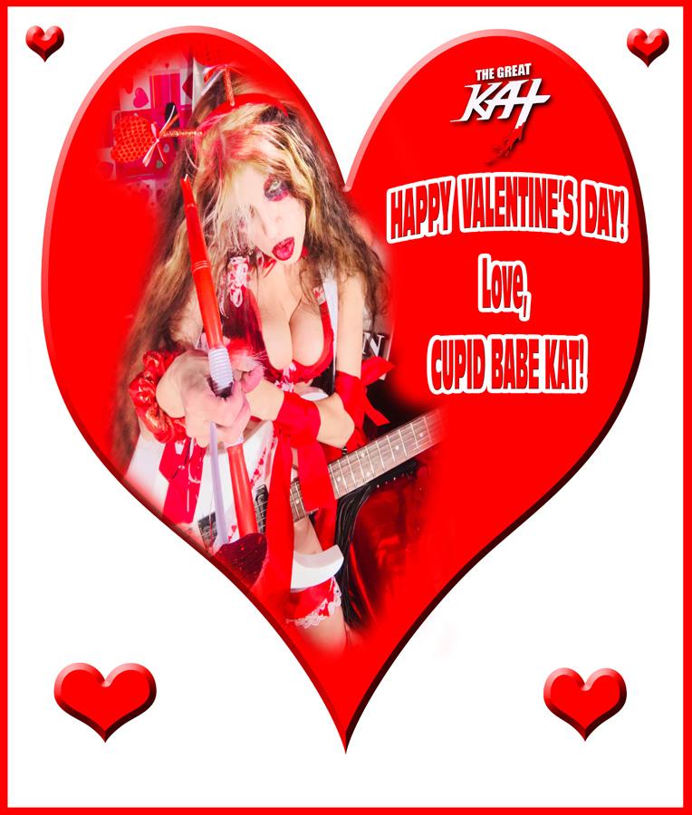 HAPPY VALENTINE'S DAY! Love, CUPID BABE KAT!