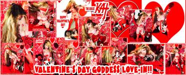 VALENTINE'S DAY GODDESS LOVE-IN!