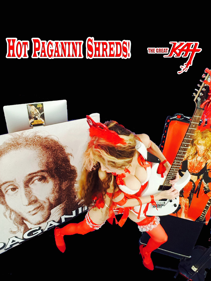 HOT PAGANINI SHREDS!