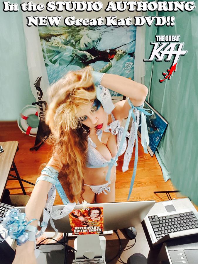 In the STUDIO AUTHORING NEW Great Kat DVD!!