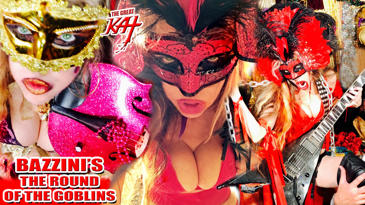 """THE GREAT KAT'S BAZZINI'S """"THE ROUND OF THE GOBLINS"""" MUSIC VIDEO!"""
