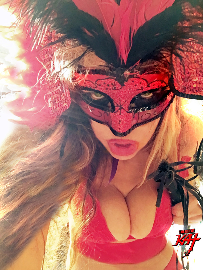 """HOT SHE-DEVIL! from BAZZINI'S """"THE ROUND OF THE GOBLINS"""" NEW GREAT KAT MUSIC VIDEO!"""