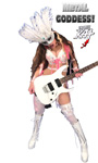 "METAL GODDESS! from BAZZINI'S ""THE ROUND OF THE GOBLINS"" NEW GREAT KAT MUSIC VIDEO!"