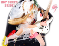 "HOT SHRED BRIDE! from BAZZINI'S ""THE ROUND OF THE GOBLINS"" NEW GREAT KAT MUSIC VIDEO!"